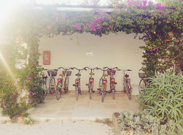Guests are welcome to use the bikes at Puglia's Masseria Torre Maizza Hotel