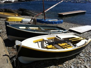 Boats on the beach at Cadaques