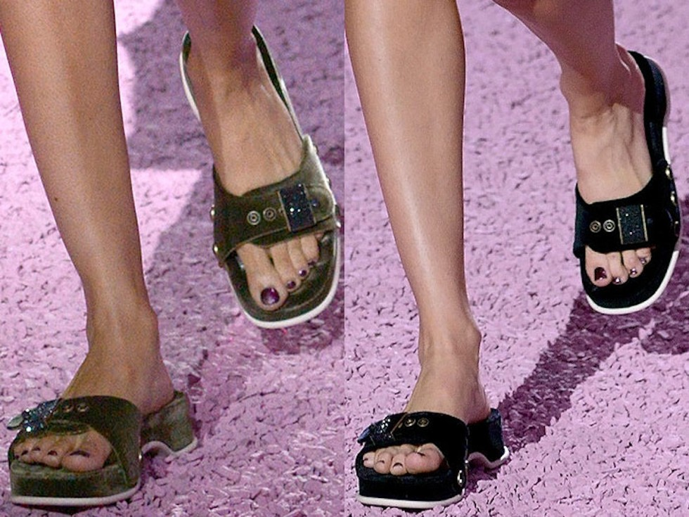 Marc Jacobs' Dr. Scholl's for spring 2015