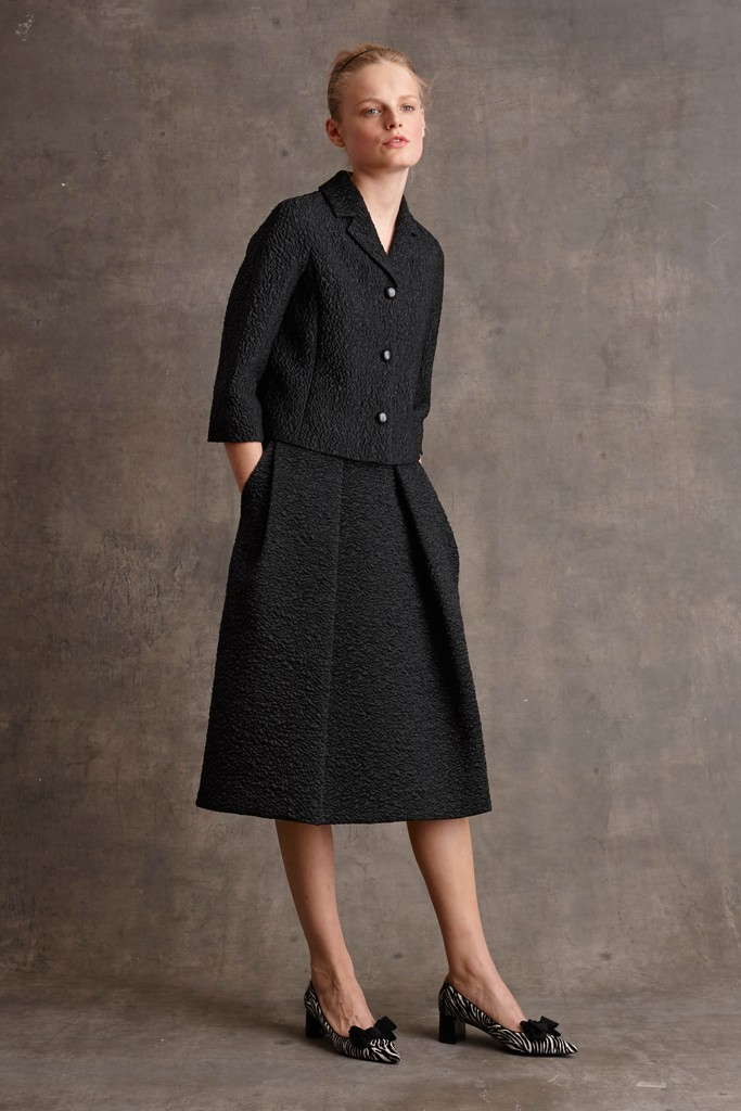 Shirtwaist dress from Michael Kors' pre-fall collection